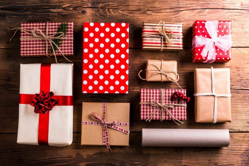 Tip #1: Balení knižních dárků