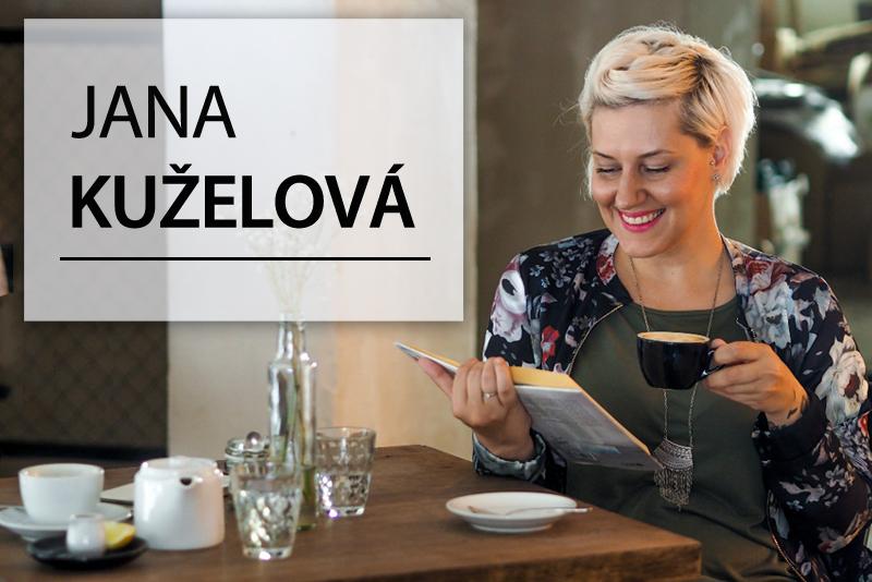 Povídání o knihách: JANA KUŽELOVÁ