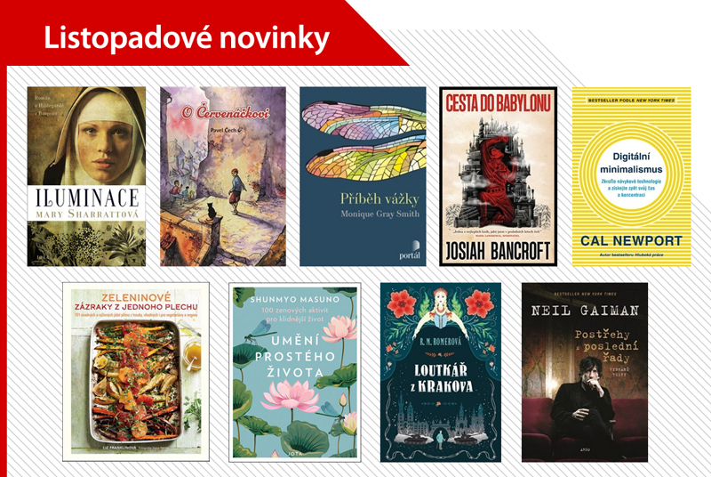 Listopadové knižní BEST OF