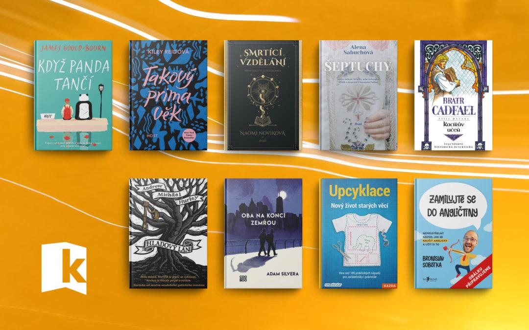 9 knih, na které se těšíme jak Dobby na nové fusakle